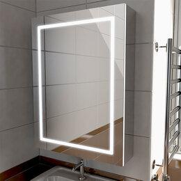 Шкафы, стенки, гарнитуры - Зеркальный шкаф с подсветкой в ванную Emmy Родос…, 0