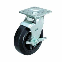 Оборудование для транспортировки - Колесо большегрузное поворотное с тормозом ф100…, 0