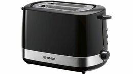 Дорожные и спортивные сумки - Compact toaster Чёрный TAT7403, 0