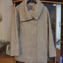 Пальто - куртка без подклада 46., 0