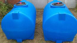 Баки - Пластиковая емкость 1000 литров. Горизонтальная, 0