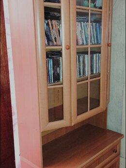 Шкафы, стенки, гарнитуры - Шкаф со стеклами светлый, 0