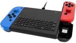 Игровые приставки - Беспроводная клавиатура с держателем Joy-con…, 0