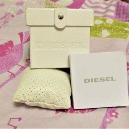 Шкатулки для часов - Коробка футляр diesel для наручных часов + подушка + инструкция, 0