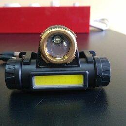 Фонари - Налобный фонарь аккумуляторный HT-772 LED + COB, 0