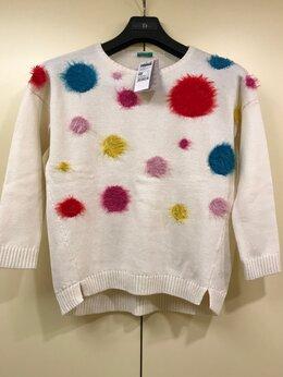 Свитеры и кардиганы - Новый свитер для девочки 8-9 лет, United colors…, 0