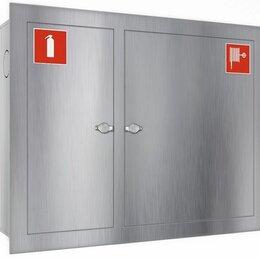 Противопожарное оборудование - Шкаф из нержавеющей стали  Ш-ПК-315 встроенный…, 0