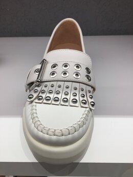 Туфли - Лоферы новые кожа белые Geox все размеры кожаные…, 0