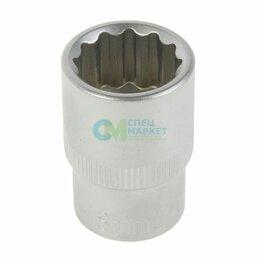 Торцевые головки и ключи - Головка торцевая (12 граней) 18мм Licota, 0