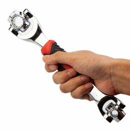 Рожковые, накидные, комбинированные ключи - Универсальный гаечный ключ 48 в 1 Universal Wrench, 0