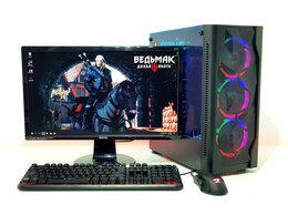 Настольные компьютеры - Игровой пк i5-6500+GTX1050Ti 4Gb+ DDR4 8Gb+Монитор, 0
