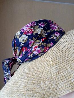 Головные уборы - Комплект для пляжа-сумка и шляпа, 0