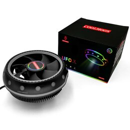 """Кулеры и системы охлаждения - RGB кулер """"Летающая тарелка"""", 0"""