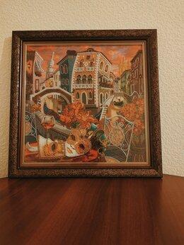 """Картины, постеры, гобелены, панно - Картина  бисером """"Венеция"""", 0"""