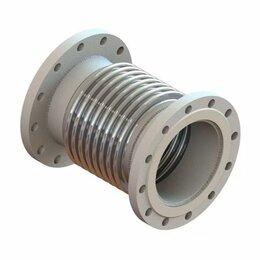 Комплектующие для радиаторов и теплых полов - Компенсатор сильфонный фланцевый ОФН-16-150 фланцы 08Х18Н10Т, 0