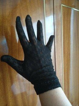 Перчатки и варежки - Кружевные черные перчатки, 0