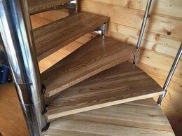 Лестницы и элементы лестниц - Лестница из цельноламельного ясеня для офиса…, 0