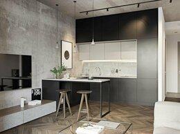 Мебель для кухни - Кухня до потолка студия, 0