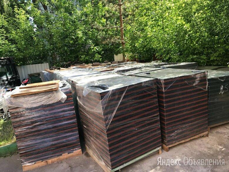 Резиновая Плитка 40 мм (возможно монтаж нами) по цене 1350₽ - Садовые дорожки и покрытия, фото 0