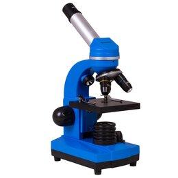Микроскопы - Микроскоп Bresser Junior Biolux SEL 40–1600x, синий уцененный, 0