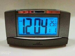 Часы настольные и каминные - Часы будильник Wendox W5784-T с подсветкой, 0