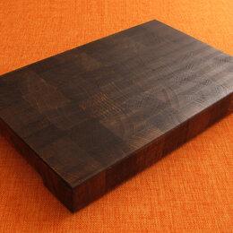 Разделочные доски - Торцевая разделочная доска из черного дуба, 0