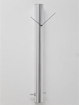 Часы настенные - Часы настенные серебро Cylinder, 0