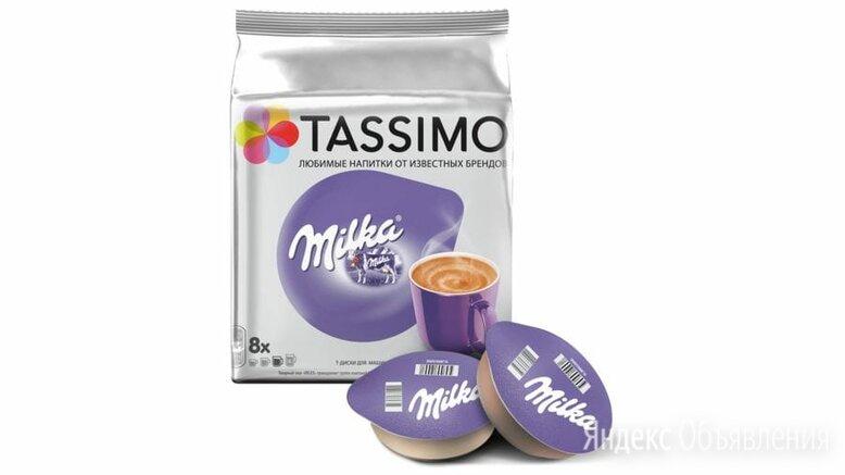 Какао в капсулах TASSIMO MILKA, 8 T-дисков на 8 порций 17002964 по цене 399₽ - Детское питание, фото 0