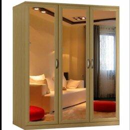 Шкафы, стенки, гарнитуры - Шкаф 3 дверный с зеркалами, 0