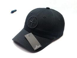 Головные уборы - Бейсболка кепка мужская Stone Island (черный), 0
