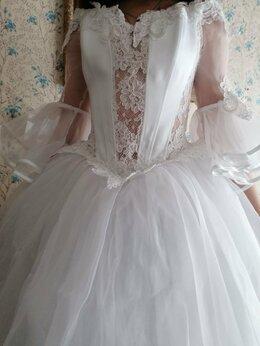 Платья - Платье свадебное 42-46 размер , 0