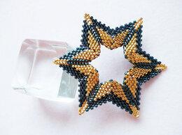 Кулоны и подвески - Кулон Звезда графит с золотом, 0
