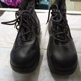 Обувь - Ботинки рабочие ЛИТОБУВЬ - новые р-37, 0
