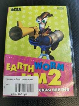 Игры для приставок и ПК - Картридж Sega Earth Worm Jim 2, 0