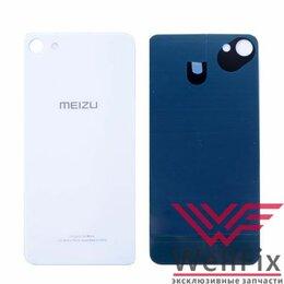 Корпусные детали - Задняя крышка для Meizu U10 белая, 0