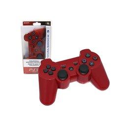 Аксессуары - Джойстик беспроводной для PS3 White красный, 0
