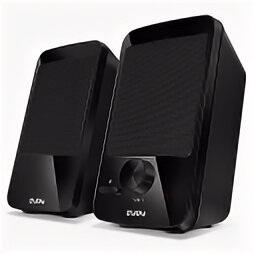 Компьютерная акустика - Звуковые колонки 2.0 Sven 312 4W USB black, 0