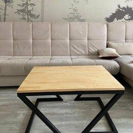Столы и столики - Жульнальный столик Омега loft, 0