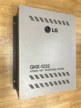 Мини АТС - Базовый блок атс LG GHX-1232, 0