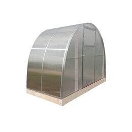 Теплицы и каркасы - Удлинение теплицы 2 м АГРО Premium 3*2,1*2 м (ПК 40 мКм 10 мм / шаг дуги 1 м..., 0