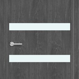 Входные двери - Дверь G1 цв. Дуб графит, 0