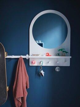 Зеркала - Новое зеркало Салтрёд Икеа белый, 0