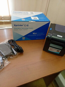 Принтеры чеков, этикеток, штрих-кодов - Принтер этикеток Xprinter370b, 0