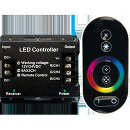Светодиодные ленты - Ecola LED strip RGB RF controller 18A 216,0W 12V , 0