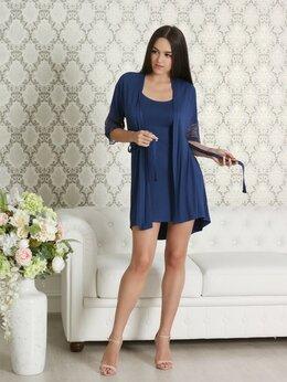 Домашняя одежда - Пеньюар женский Firuze сапфир, 0