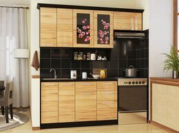 Мебель для кухни - Кухонный гарнитур САКУРА-3, правая, левая, 0