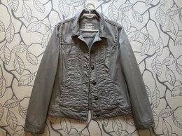 Куртки - 50 размер Esprit Германия светло-серая джинсовая…, 0