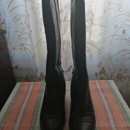 Сапоги - Женские зимние сапоги. Натуральные кожа и мех. Подошва: ТЭП. Размер: 38, 0