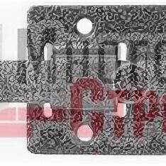 Защелки и завертки - Задвижка накладная «ЗД-06» для дверей усиленная, порошковое покрытие, цвет сереб, 0