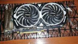 Видеокарты - Видеокарта MSI AMD Radeon RX 570 ARMOR OC 8Gb, 0